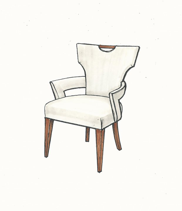 01-851 Klismos Dining Arm Chair.jpg