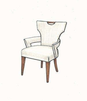 01-851 Klismos Dining Arm Chair.jpg