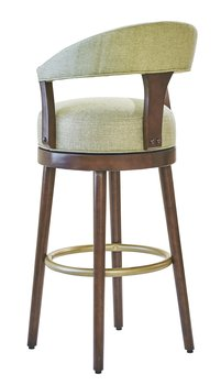 Edgemere 03-825-30 Swivel Arm Bar Hgt Stool frt vw.jpg