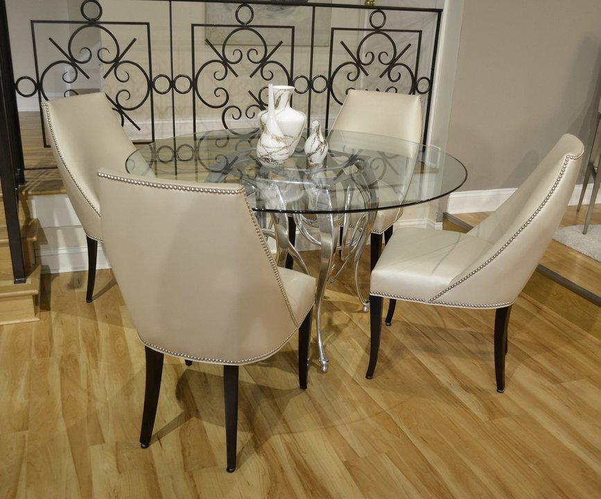Set T Clarion Set - 01-762 - Metallic Finesse Pearl Cream - High Gloss Walnut finish